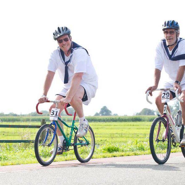 Wielerronde mini fiets